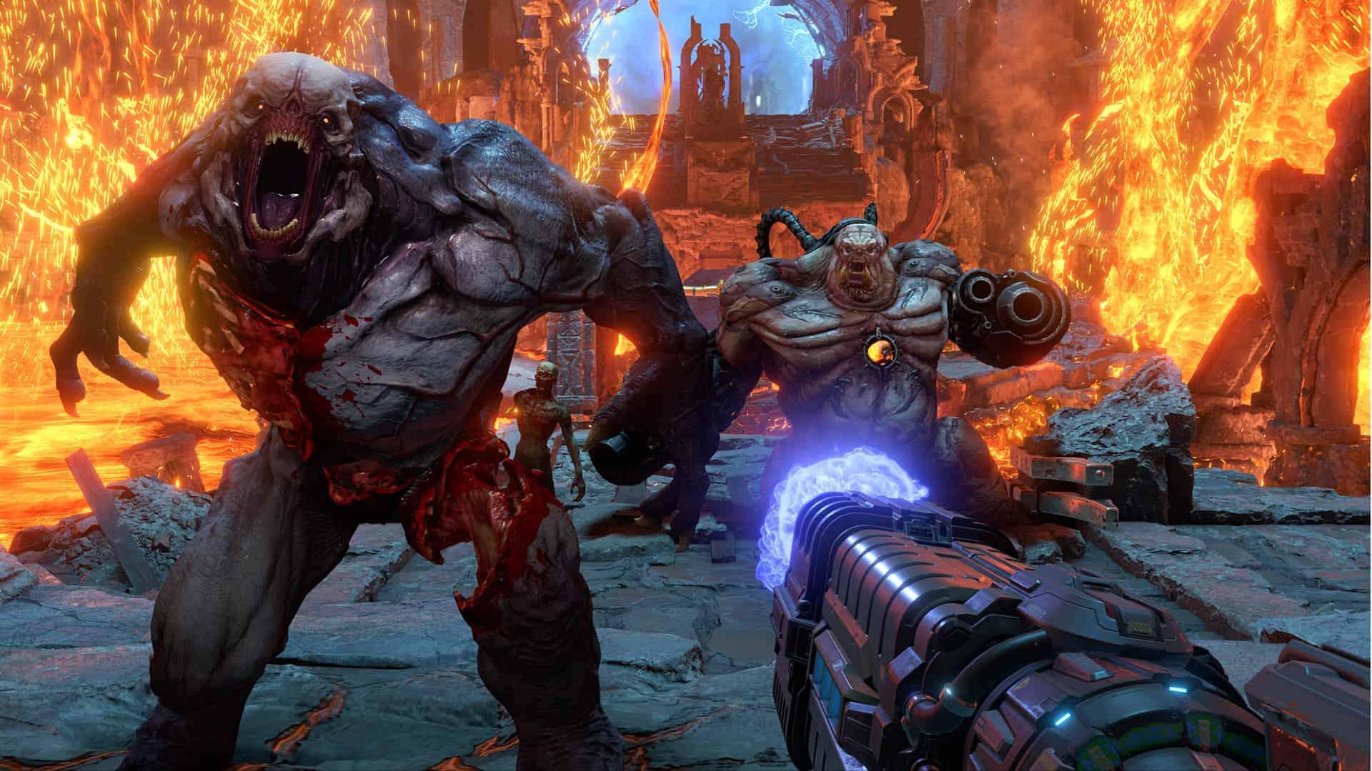 Doom Eternal Gameplay Screenshot