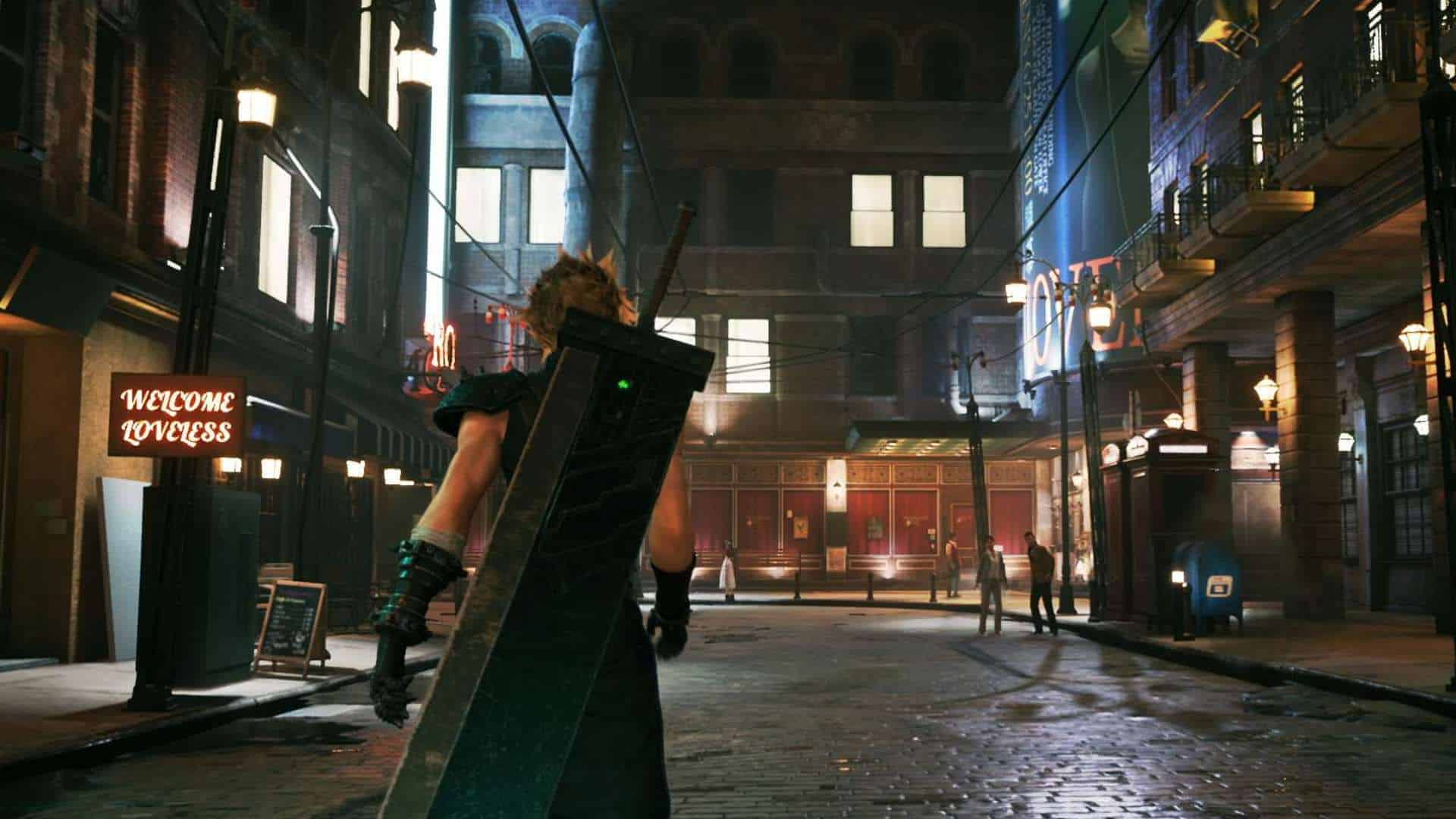 Final Fantasy VII Remake Gameplay Screenshot