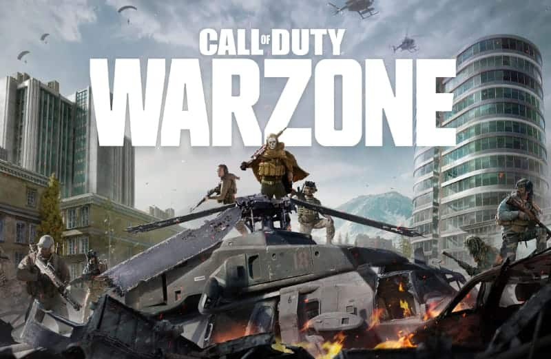 Most Popular Video Games - Call of Duty Warzone - Modern Warfare