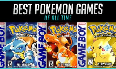 The Best Pokemon Games of All Time