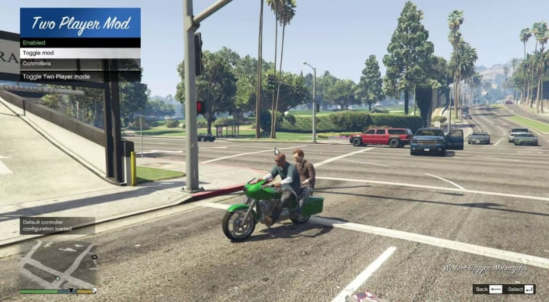 Best GTA 5 Mods - Two Player Mode