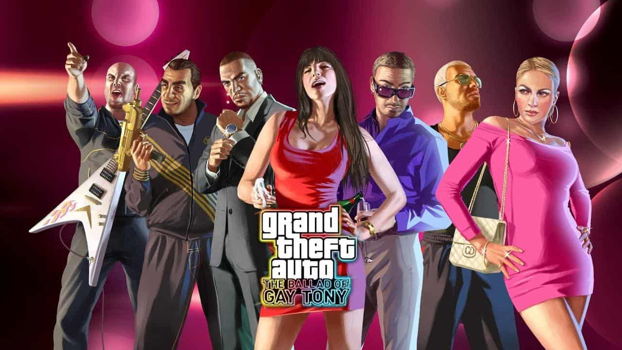 Best Grand Theft Auto Games - GTA The Ballad of Gay Tony