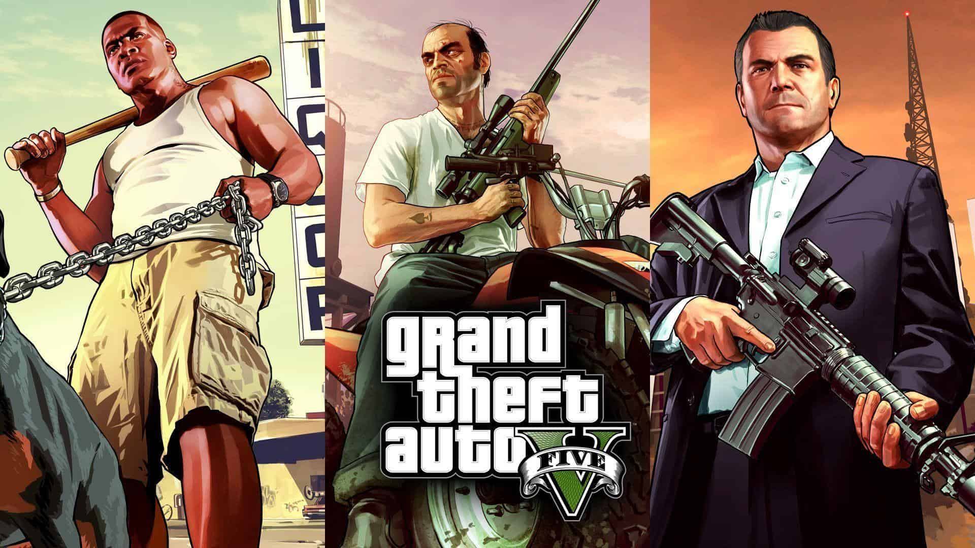 Best Grand Theft Auto Games - GTA V