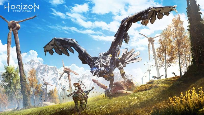 Best Post-Apocalyptic Games - Horizon Zero Dawn