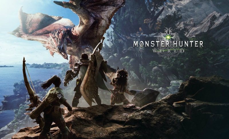 Best RPG Games - Monster Hunter World