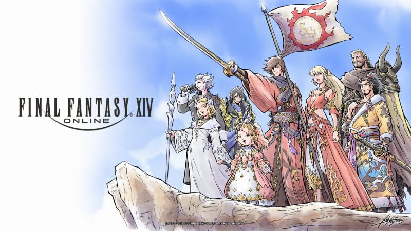 Best RPG PS4 Games - Final Fantasy XIV Online