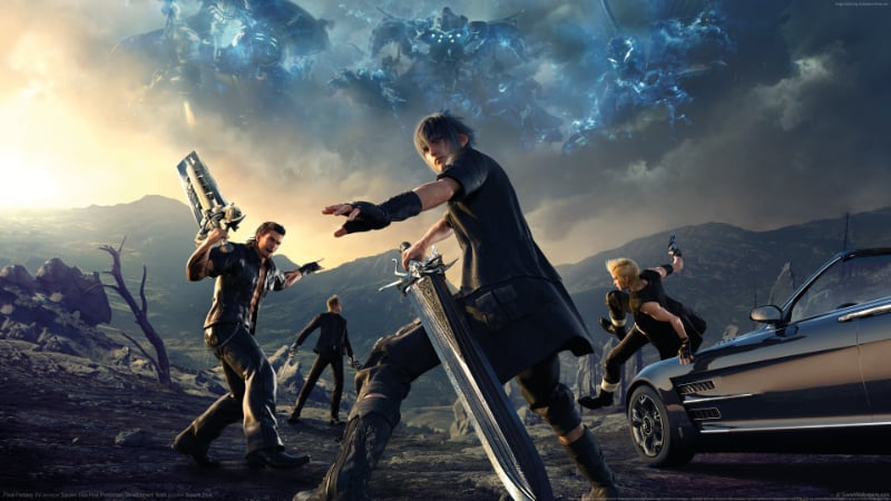 Best RPG PS4 Games - Final Fantasy XV