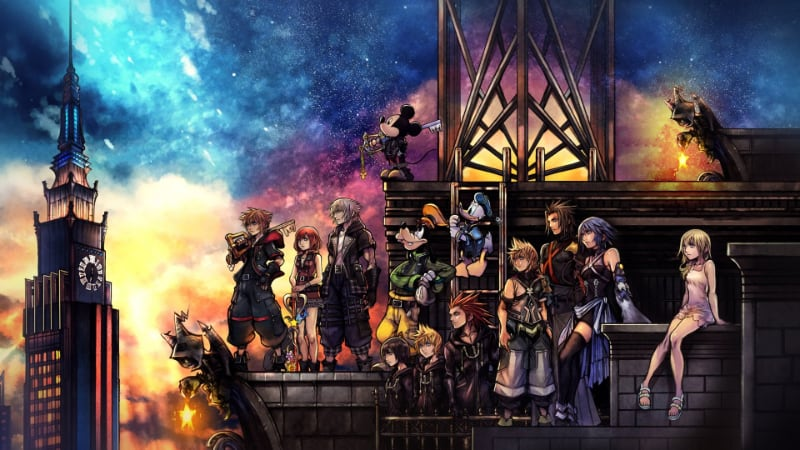 Best RPG PS4 Games - Kingdom Hearts 3