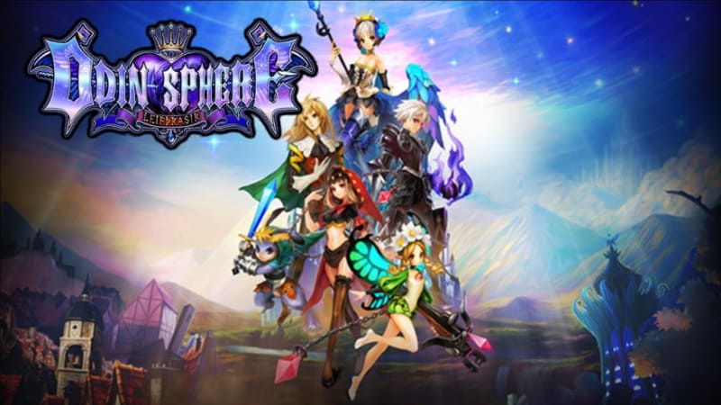 Best RPG PS4 Games - Odin Sphere
