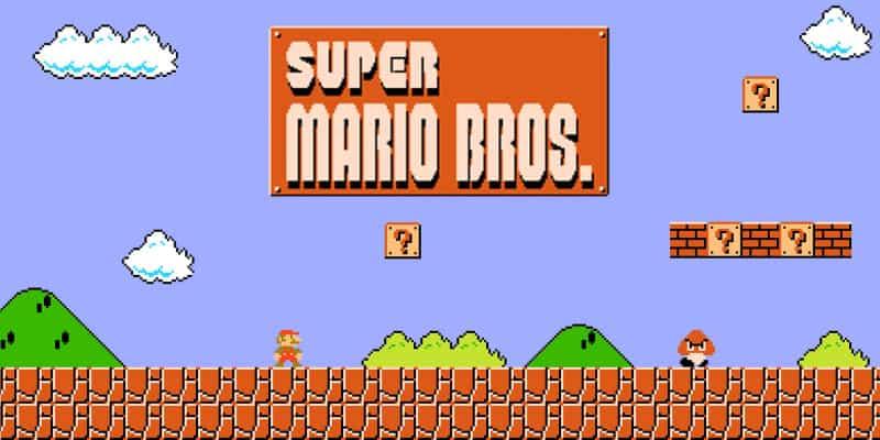 Most Popular Nintendo Games - Super Mario Bros