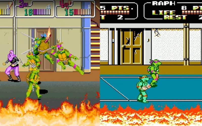 Most Popular Nintendo Games - Teenage Mutant Ninja Turtles