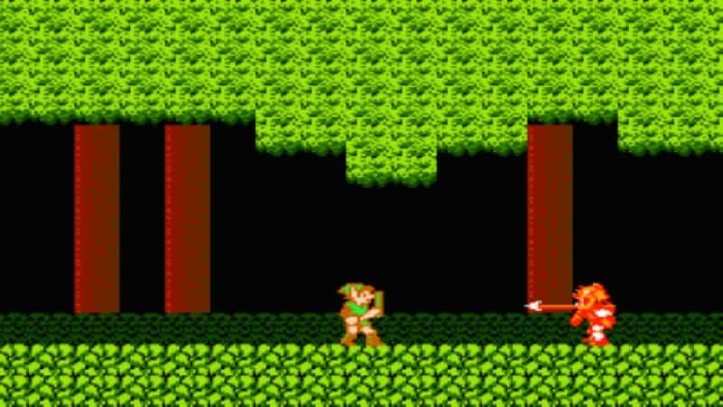 Most Popular Nintendo Games - Zelda 2 The Adventures of Link