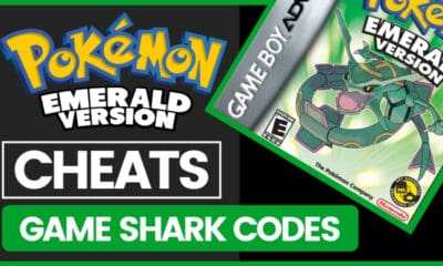 Pokemon Emerald Cheats - Gameshark Codes