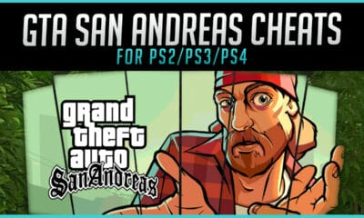 The Best GTA San Andreas Cheats for PS2 PS3 PS4