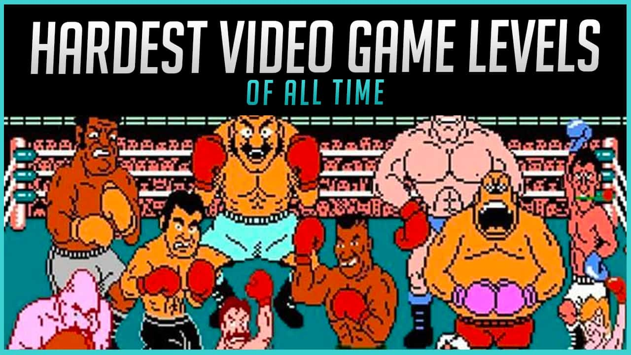 The Hardest Video Game Levels of All Time