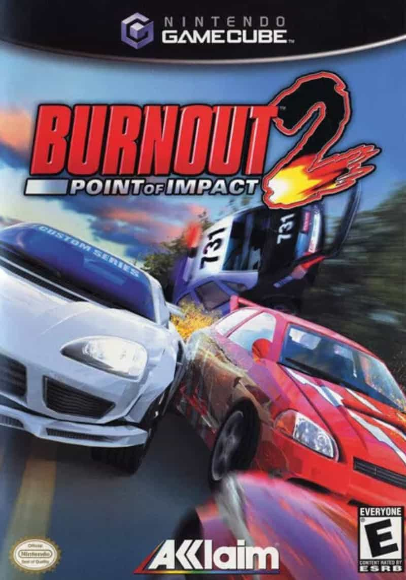 Best GameCube Games - Burnout 2- Point of Impact