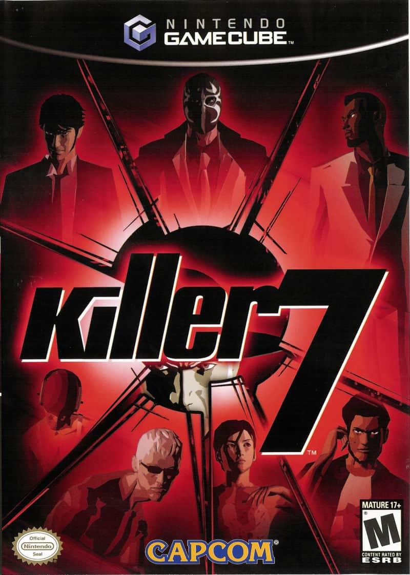 Best GameCube Games - Killer7