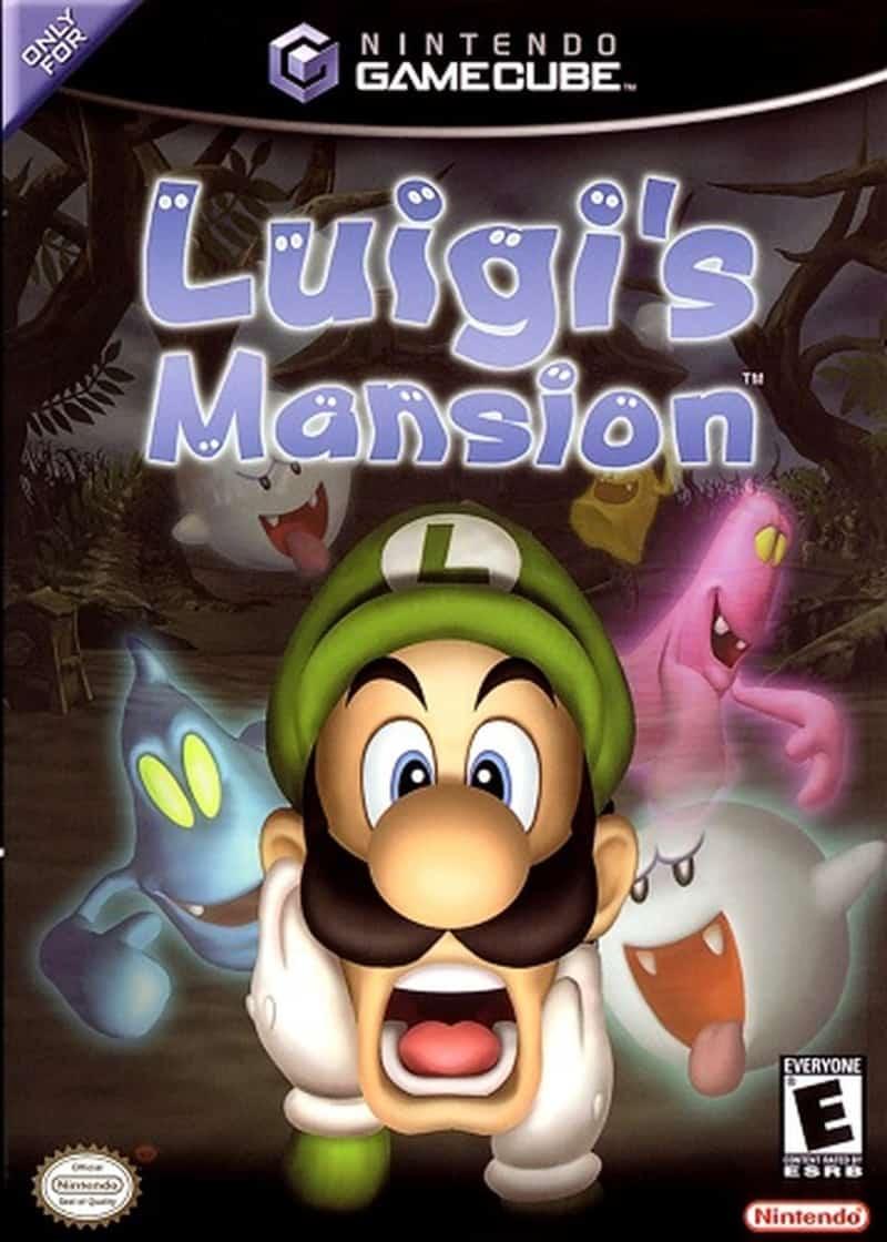 Best GameCube Games - Luigi's Mansion