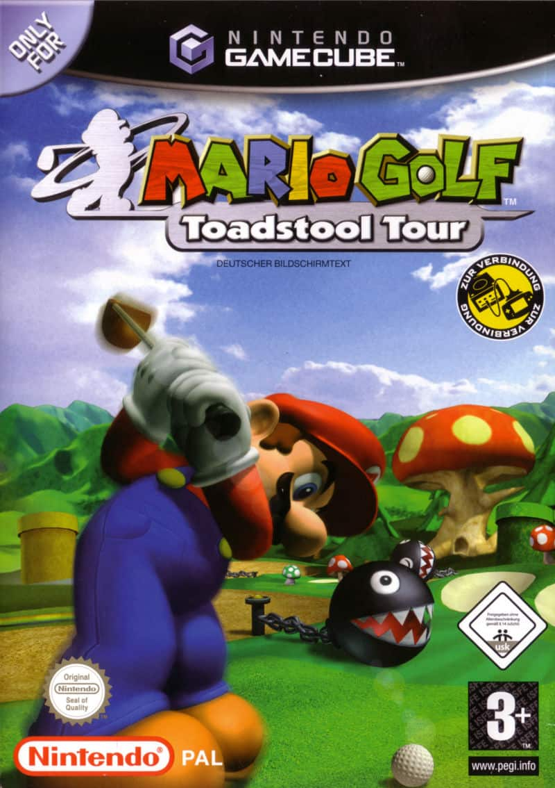 Best GameCube Games - Mario Golf- Toadstool Tour