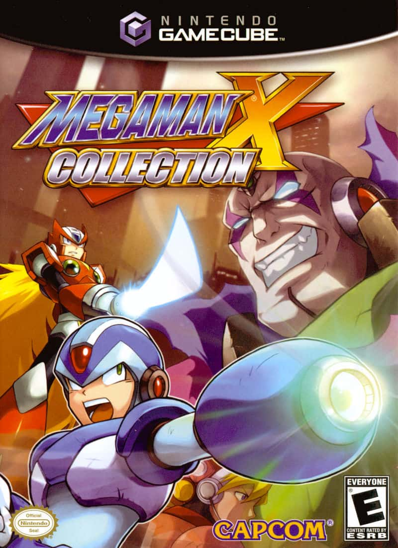 Best GameCube Games - Mega Man X Collection