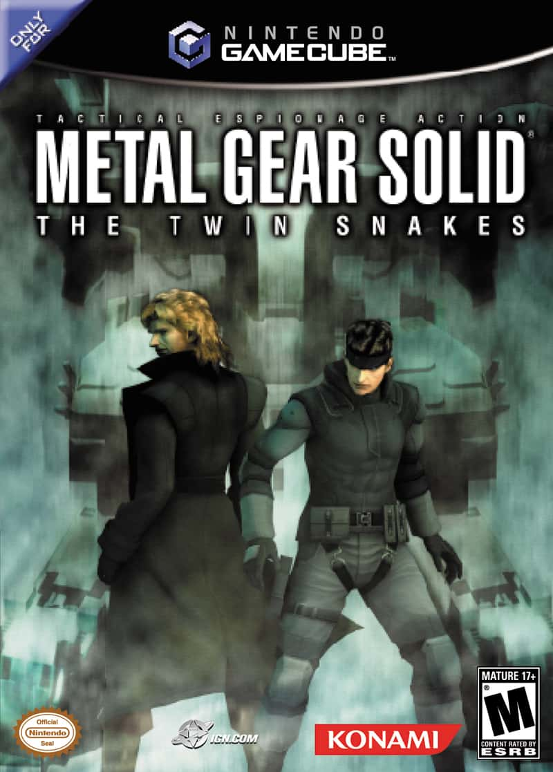 Best GameCube Games - Metal Gear Solid- The Twin Snakes