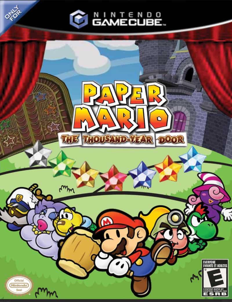 Best GameCube Games - Paper Mario- The Thousand-Year Door