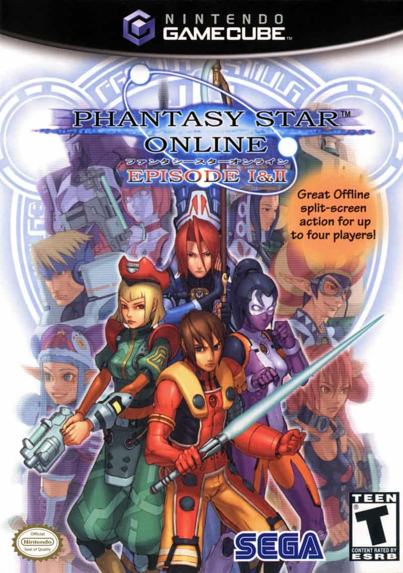 Best GameCube Games - Phantasy Star Online- Episode 1 & 2