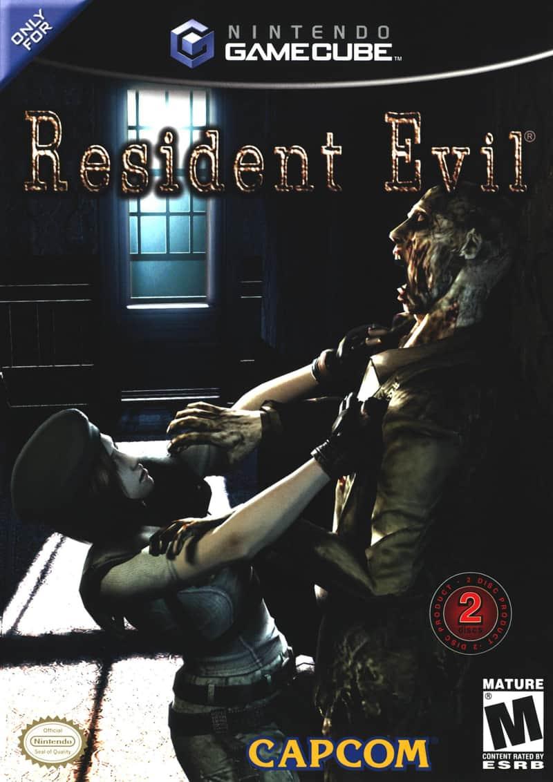 Best GameCube Games - Resident Evil