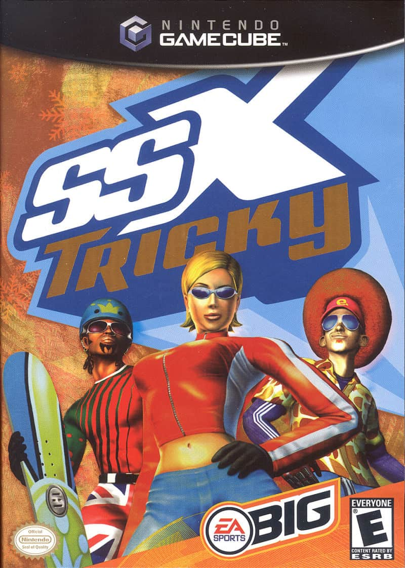 Best GameCube Games - SSX Tricky