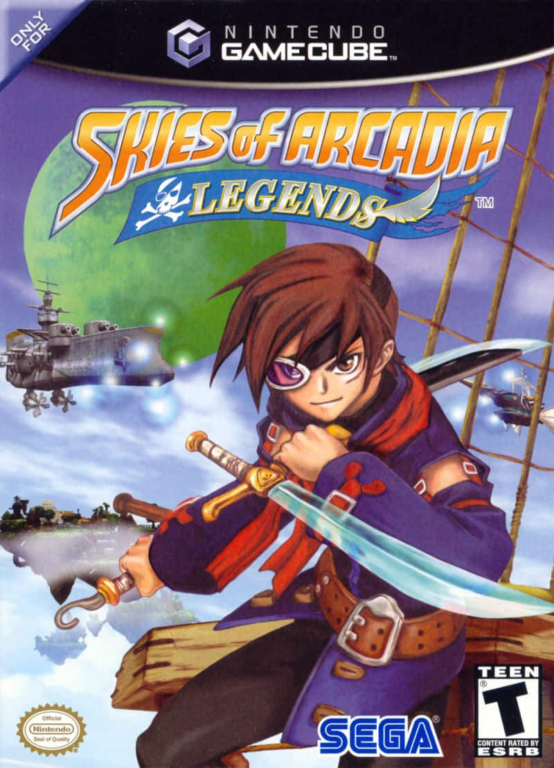 Best GameCube Games - Skies of Arcadia- Legends