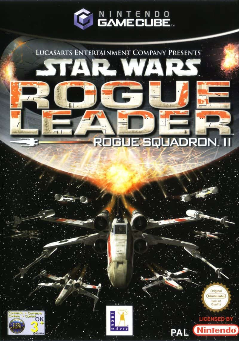 Best GameCube Games - Star Wars Rogue Squadron II- Rogue Leader