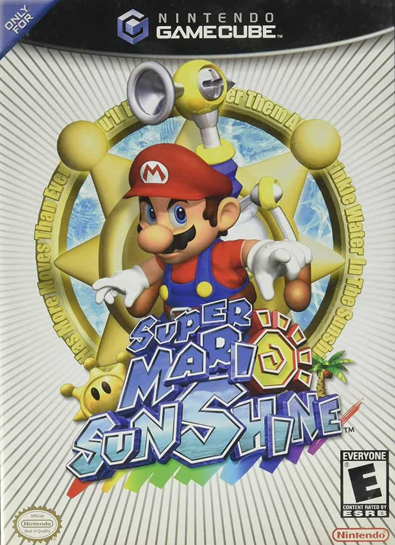 Best GameCube Games - Super Mario Sunshine