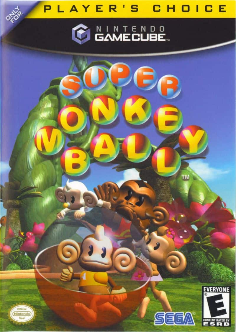 Best GameCube Games - Super Monkey Ball