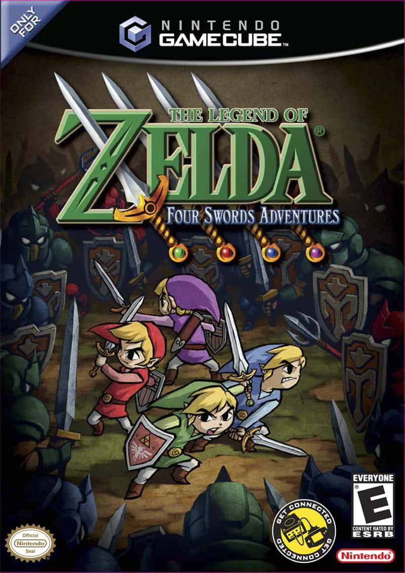 Best GameCube Games - The Legend of Zelda- Four Swords Adventures