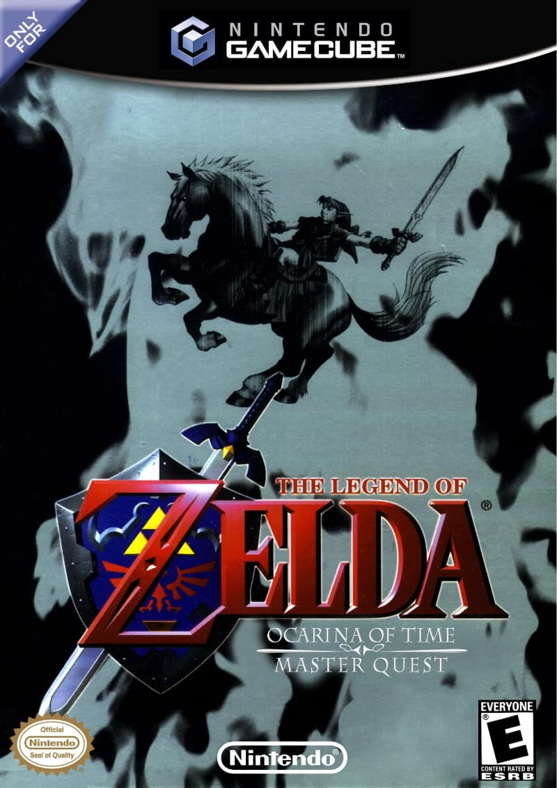 Best GameCube Games - The Legend of Zelda- Ocarina of Time : Master Quest