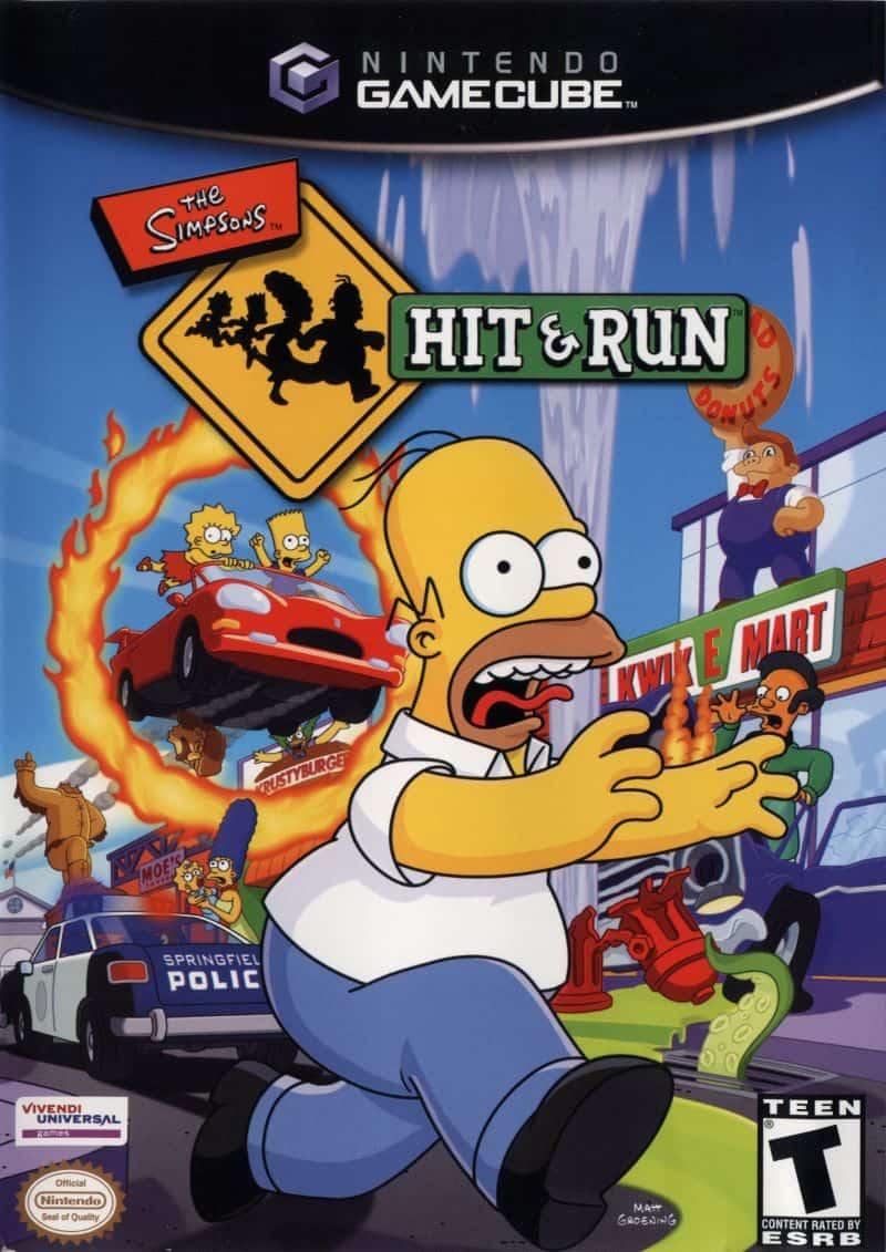 Best GameCube Games - The Simpsons- Hit & Run