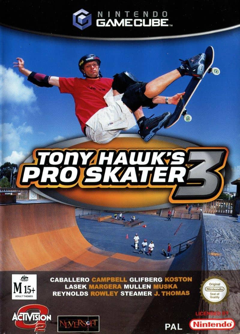 Best GameCube Games - Tony Hawk's Pro Skater 3