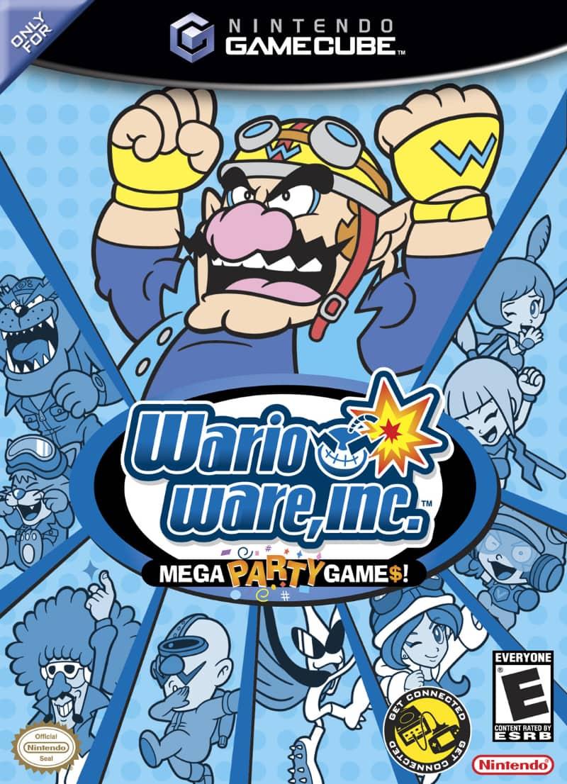 Best GameCube Games - WarioWare, Inc.- Mega Party Game$!