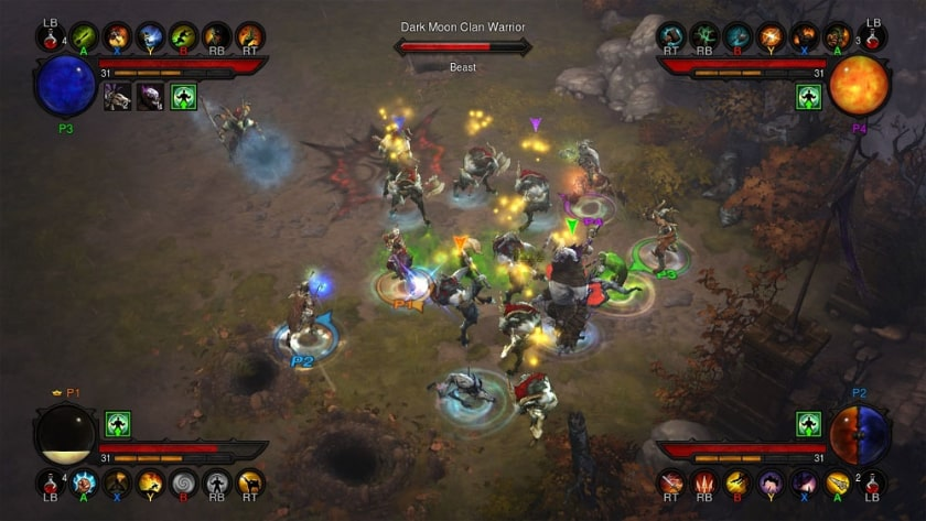 Best Split Screen Games - Diablo 3