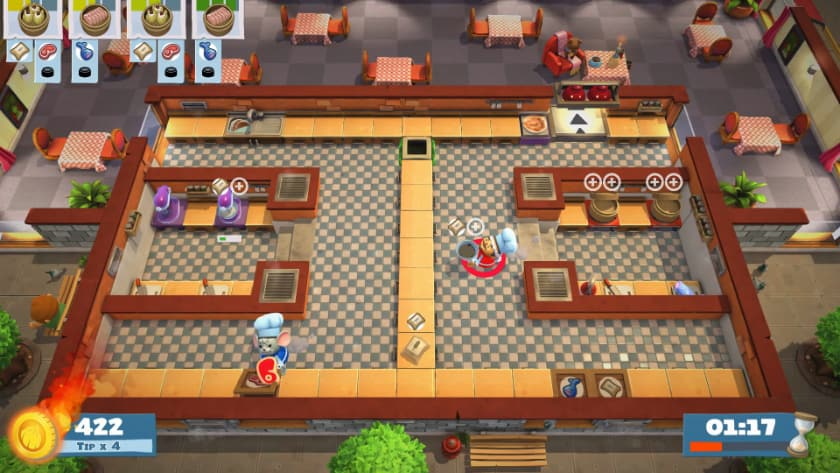 Best Split Screen Games - Overcooked 2