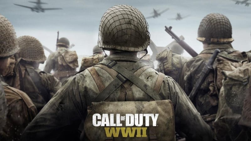 Best Split Screen PS4 Games - Call of Duty WWII