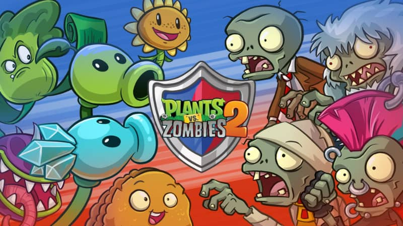 Best Split Screen PS4 Games - Plants Vs Zombies 2 (1)