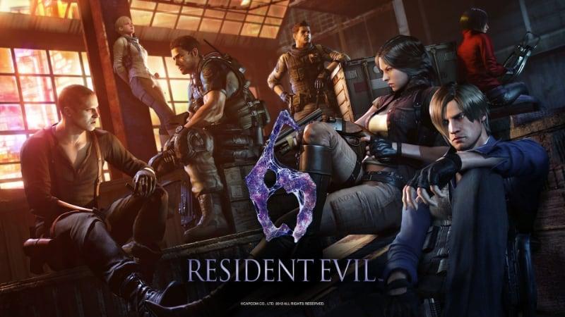 Best Split-Screen PS4 Games - Resident Evil 6
