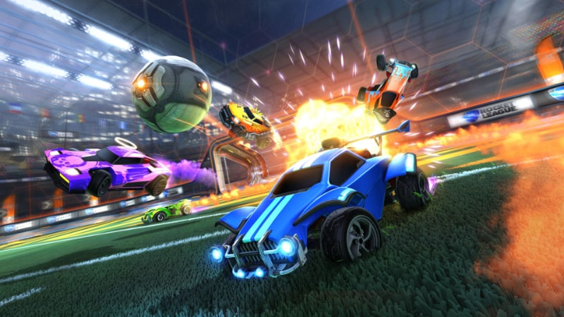 Best Split Screen PS4 Games - Rocket League