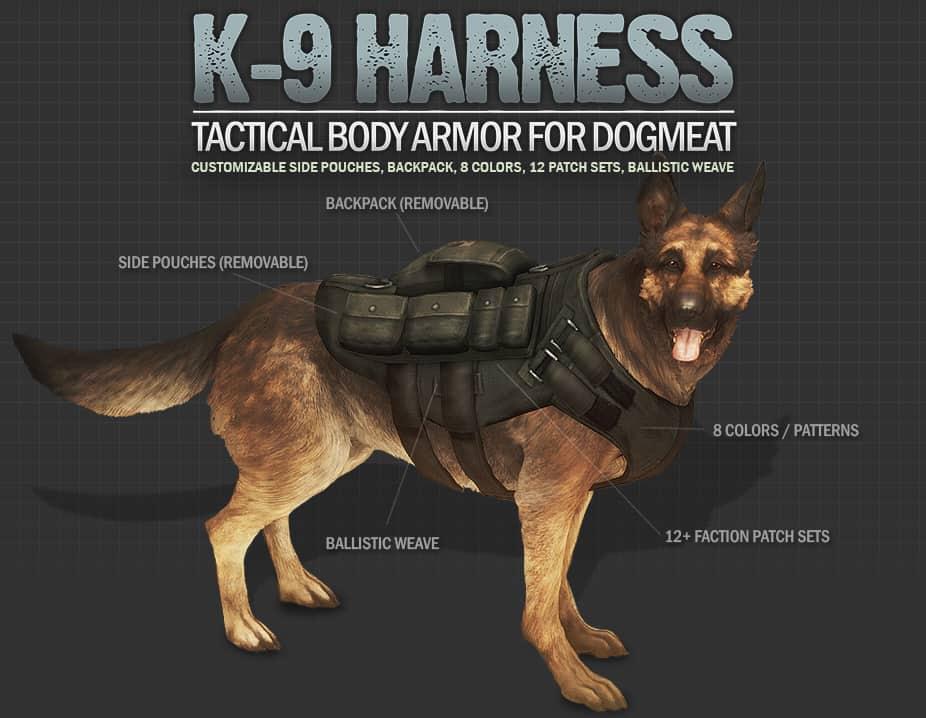Best Fallout 4 Mods - K9 Harness