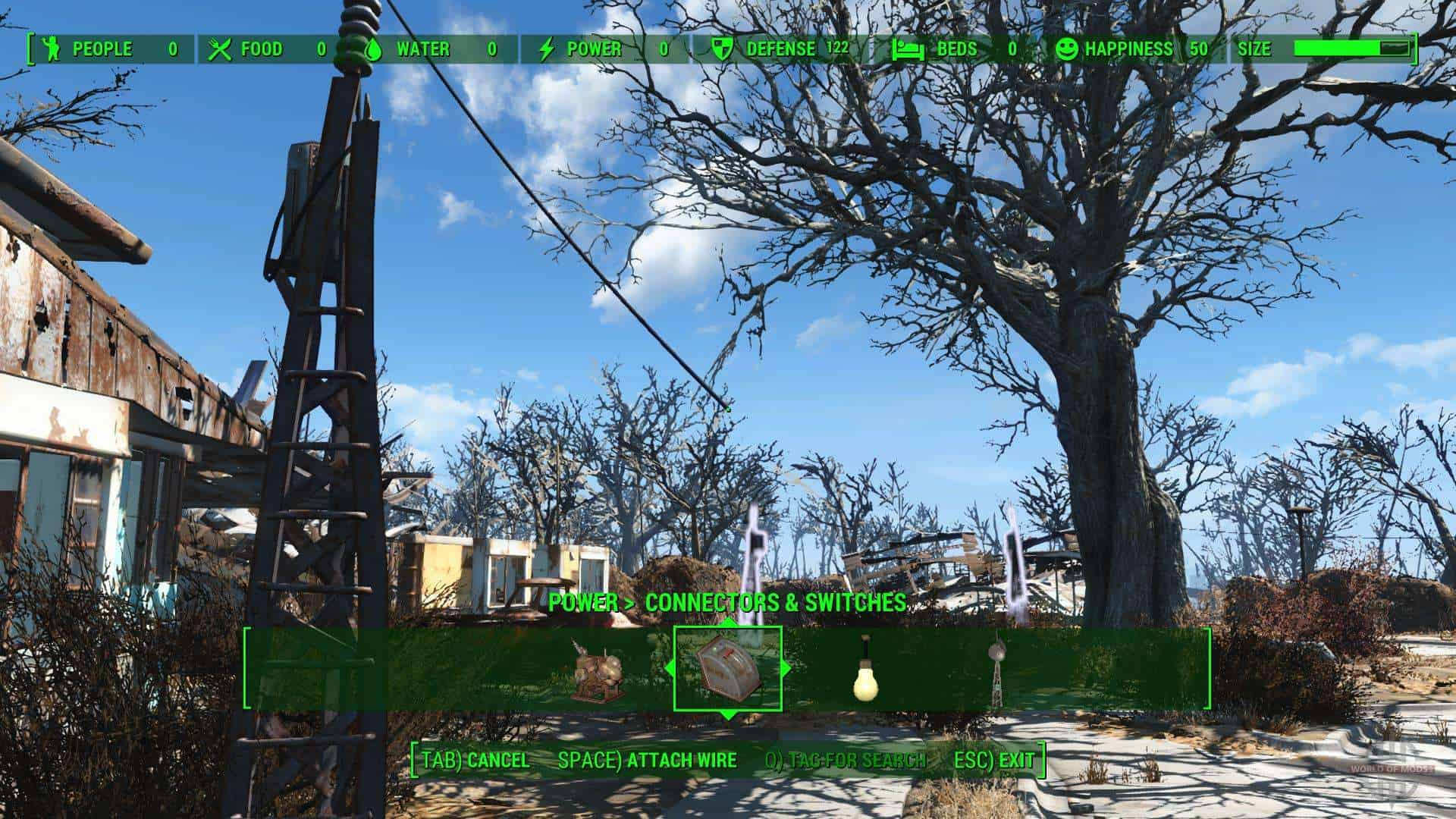 Best Fallout 4 Mods - Longer Powerlines