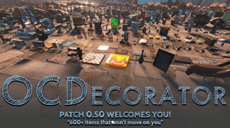 Best Fallouts 4 Mods - OC Decorator