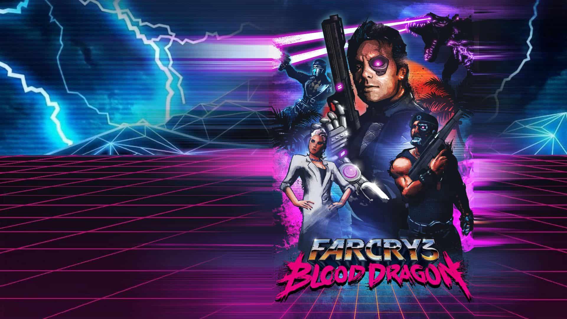 Best Far Cry Games - Far Cry 3 Blood Dragon