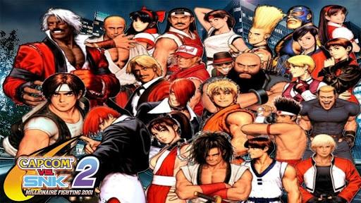 Best Fighting Games - Capcom VS SNK 2- Mark of the Millenium 2001