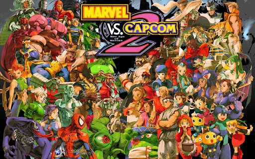 Best Fighting Games - Marvel vs. Capcom 2- New Age of Heroes